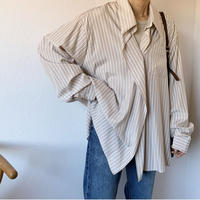 stripe lose shirt [TOP20AW477]