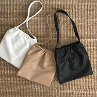 fake leather shoulder bag (3color)