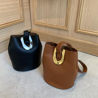 chain buckle handbag (2color)  [BAG19AW0190]