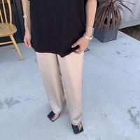 satijn  straight pants (2color)[BT21SS704]