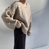 handmade volume knit[TOP20AW538]
