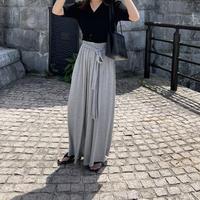 ribbon ruff pants (2color)