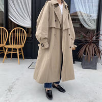 volume sleeve trench coat [OU20AW501]