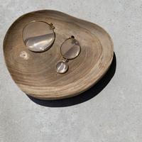 asymmetry round clear pierce [ACC20SS318]
