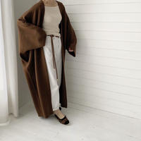 momonnga knit gown coat (3color) [OU19AW0094]