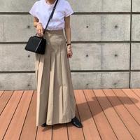pleats long skirt (2color)[TOP21SS694]
