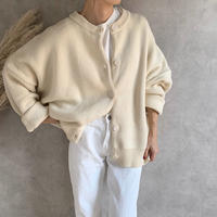 oversize basic knit cardigan (4color) [TOP19AW0102]