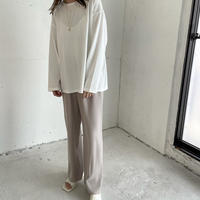 soft long t-shirt (3color)[TOP21SS663]