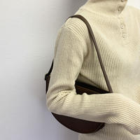 button highneck tops (2color)[TOP20AW214]