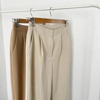 one tuck slacks pants (2olor)[BT21SS672]