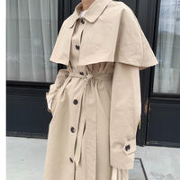 cape trench coat[TOP20AW606]