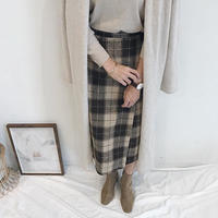 check tight skirt
