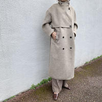 handmade highneck long coat (2color)[OU20AW474]