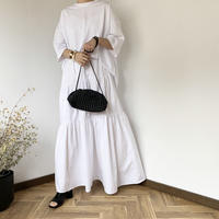 cotton  long skirt [BT20SS373]