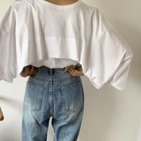 back collar design tops (2color)[OP20AW472]