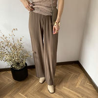 pleats rib pants (2color) [PT20SS354]