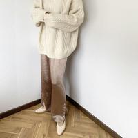 satijn wide pants (3color) [BT20AW245]