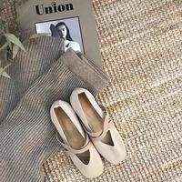crossband knit shoes (2color)