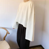 wide sleeve cutsew (2color)[TOP20AW482]