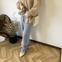 ankle design knit pants (2color) [BT20AW241]