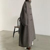 [original] fringe design coat (2color)