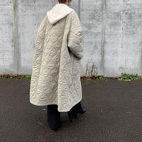 quilting long coat[OU20AW562]