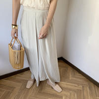 front design long skirt (3color)[BT20SS365]