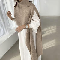 asymmetry cable knit tops (3color) [TOP20AW514]