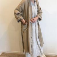 cotton robe (2color)