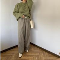 west design wide pants  [BT20AW260]
