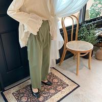 straight pants  [BT19AW0079]