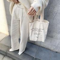 rope belt set white denim pants [BT20AW542]