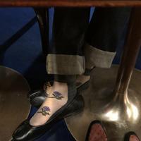 See-through Socks(Purple Gray)