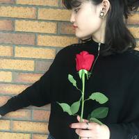 Clear Rose Earrings