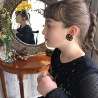 Bekko Flower Earrings