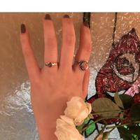 Hexagon Silver Ring