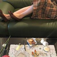 Burberrys pleats Skirt
