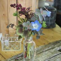 瓶と届く 世羅高原季節の小花セット