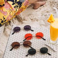 【4color】oval sunglasses