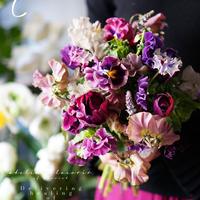 TUTU bouquet 【 C 】purple系