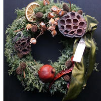 フォレストクリスマスリース