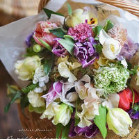 Spring color bouquet (ビジターさん)