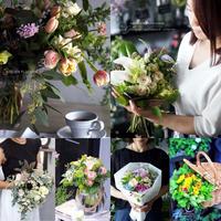 お花屋さんでBouquet master Corse (花教室)