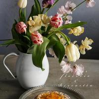 Biscuitta &  flocorir コラボ便 (お菓子とお花)