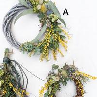 Mimosa wreath A 200302