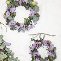 Christmas rose Wreath A