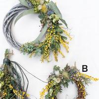 Mimosa wreath B 200302