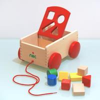 Nic/ニック社 N車付きポストボックス・赤
