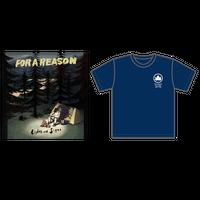 バンドルセット(CD + オリジナルTシャツ ネイビー)