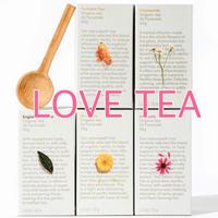 LOVE TEA 5箱セット(自然療法士のオーガニックティー)/コロナ対策セット